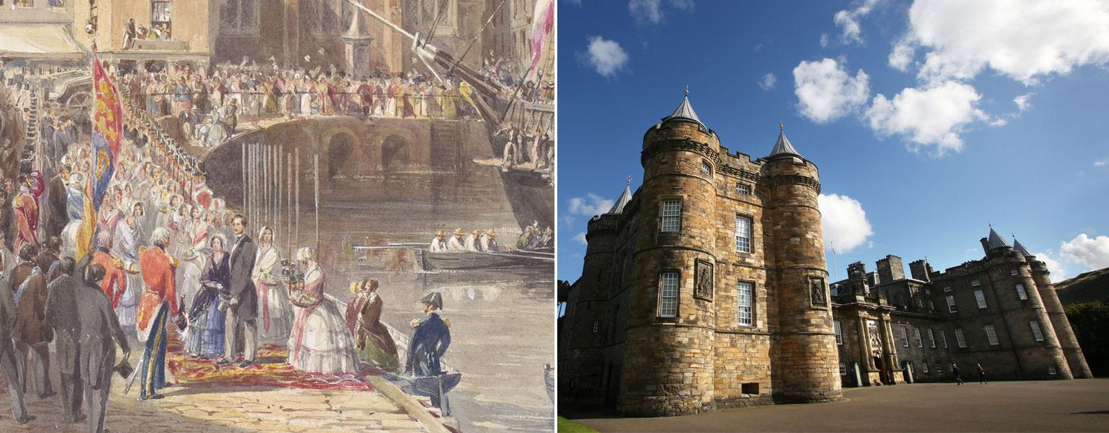 Palace of Holyroodhouse and Victoria and Albert: Our Lives in Watercolour