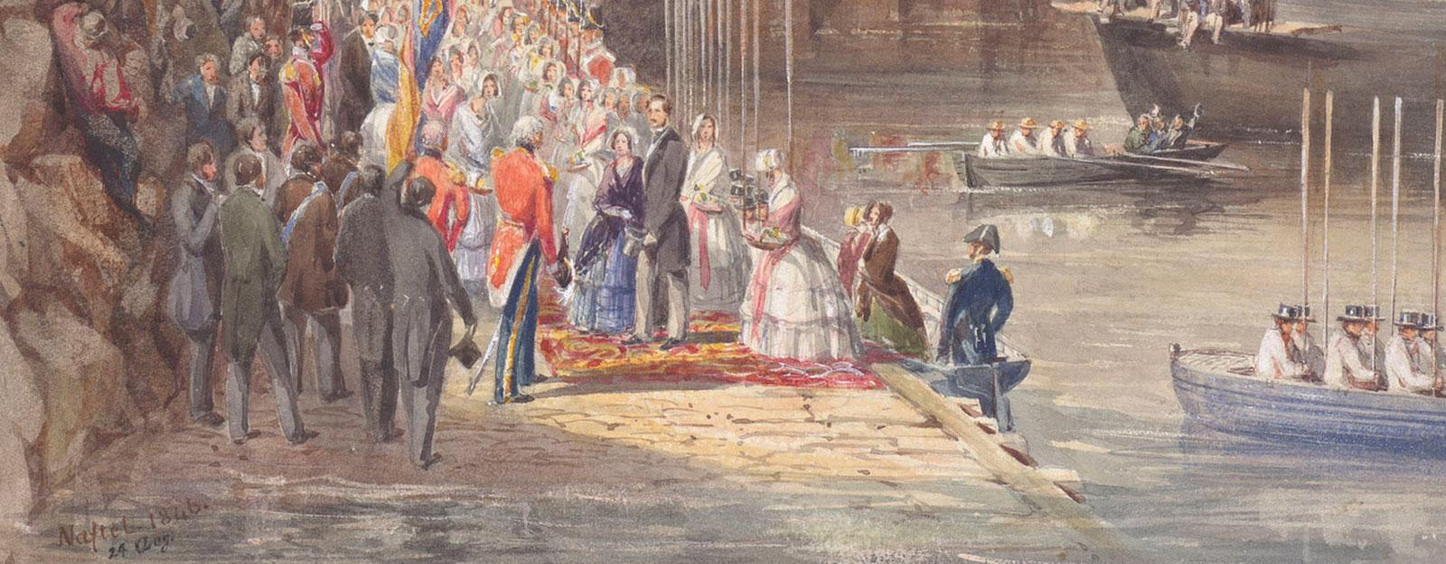 Queen Victoria & Prince Albert: Our lives in watercolour
