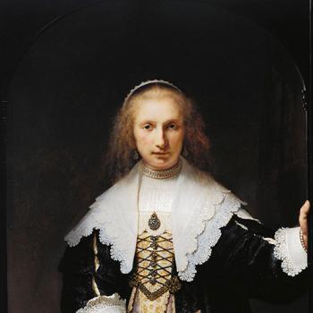 'Agatha Bas' by Rembrandt van Rijn