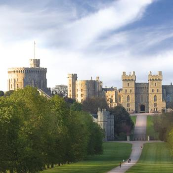 Windsor Castle from Windsor Great Park. Photographer: Will Pryce